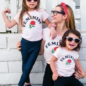Other - New With Tags Girls Feminist Shirts! Various Sizes
